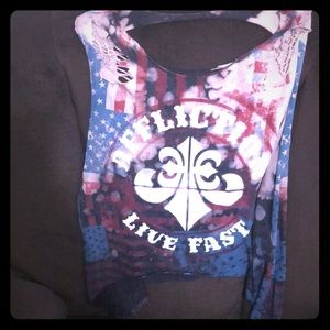 Affliction ripped tank